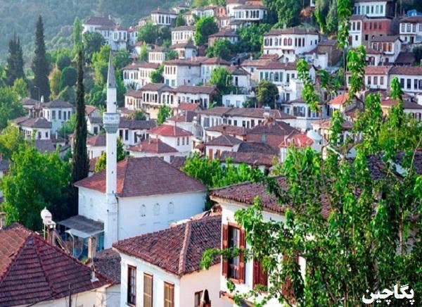 نمای زیبای روستای کرازلی