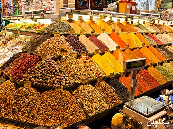 ادویه فروشیهای بازار مصری ها