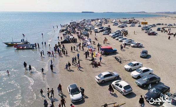 جزایر ناز در ایام نوروز