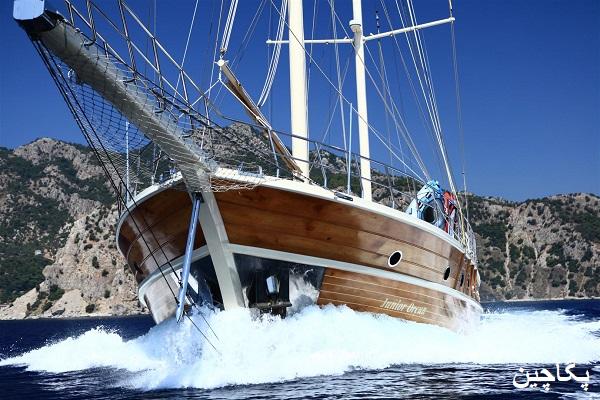 قایق های تفریحی با امکانات عالی در سواحل بدروم برای سفر های دریایی