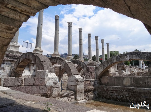 منطقه باستانی آگورا در ازمیر
