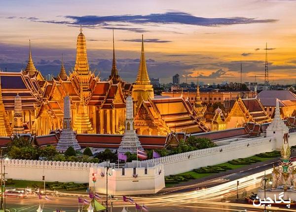 کاخ پادشاهی بانکوک در تایلند