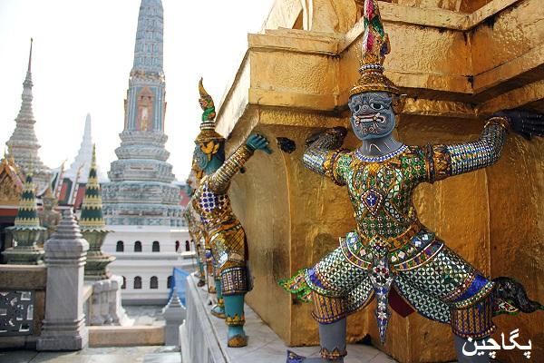 فضای بیرونی کاخ بزرگ بانکوک