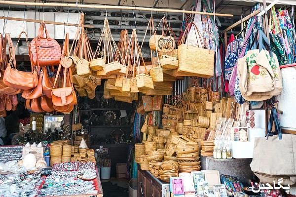 بازار صنایع دستی ابود در بالی