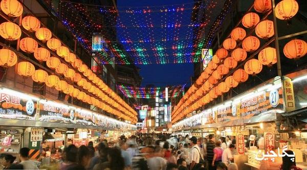 بازار شبانه تامان کنات بازاری شلوغ و پر رونق در کوالالامپور