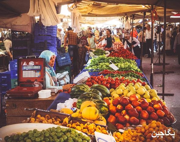 بازار محلی ماناوگات در آنتالیا