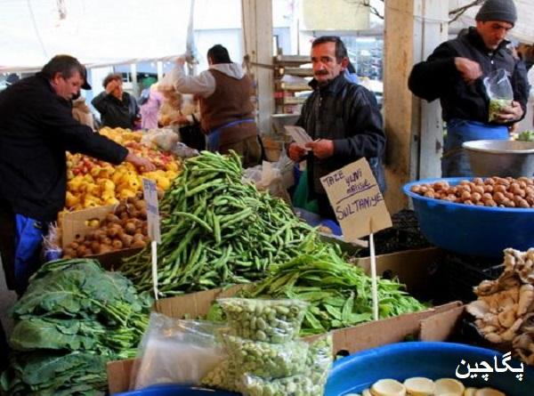 بازار محصولات کشاورزی یا بازار سنتی کشاورزان در آنتالیا