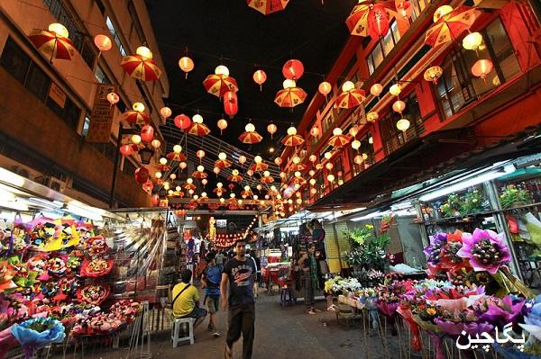 خیابان پتالینگ یا محله چینی ها یکی از بهترین مکانها برای خرید و گشت و گذار در کوالالامپور