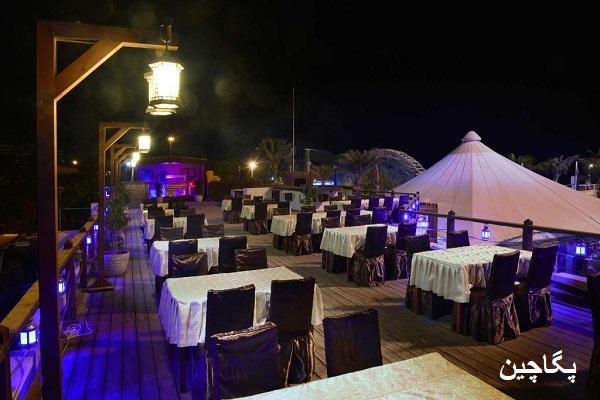 نمای زیبای رستوران توتی فروتی