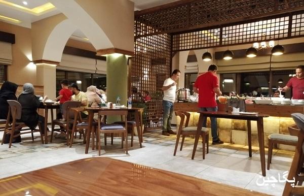 رستوران دارچین در کیش