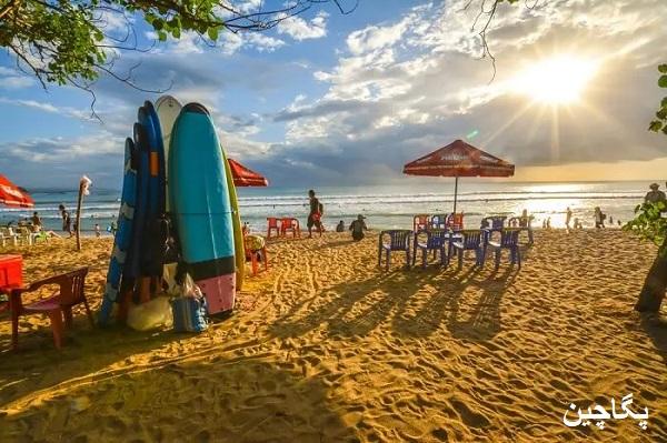 ساحل کوتا در بالی