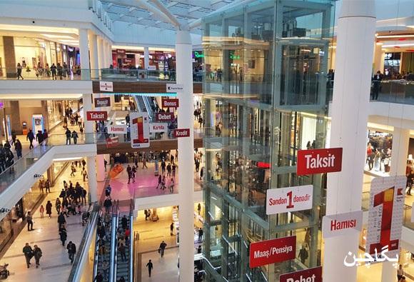 مرکز خرید گنجلیک مال یکی از بهترین مراکز خرید و گشت و گذار در باکو