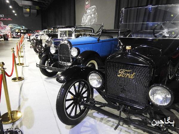 موزه خودروهای کلاسیک در قبرس