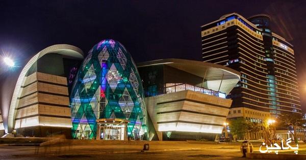 مرکز خرید پارک بلوار باکو با نمایی خیره کننده